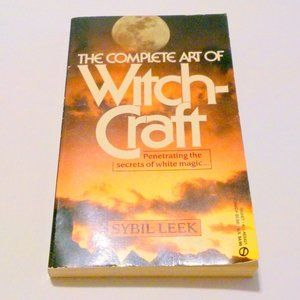 Sybil Leek The Complete Art of Witchcraft Wicca Magic Occult 1973 Illustrated
